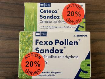 Fexo Pollen Sando offre Salveo